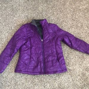 Jackets & Blazers - Purple puffy jacket